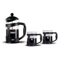 "Френч-пресс Bialetti ""Set Coffee press BLACK"" +2 mug 1 л 4652"